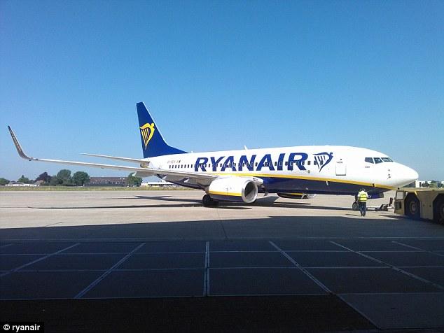 Avião Boeing 737 Ryanair