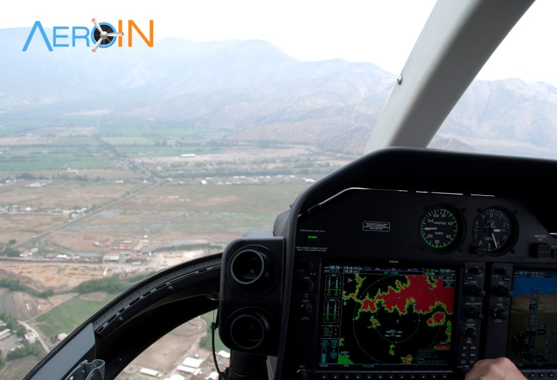 TCAS Cockpit Bell 407 HTAWS TIS GPWS