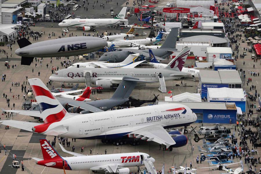 É hoje! IBAS 2017 traz ao Rio debates, negócios, exposição de aeronaves e lazer.