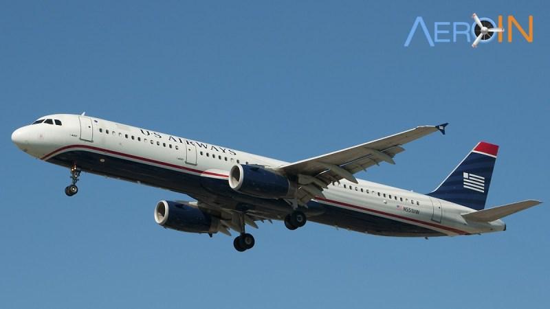 US AIRWAYS AIRBUS A321