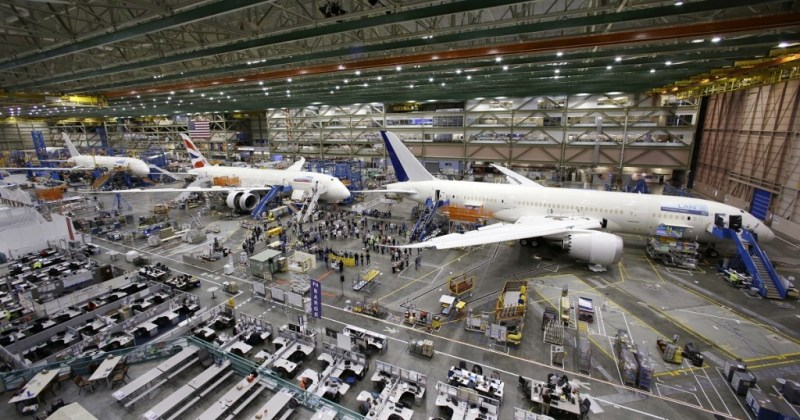 Boeing 787 Manufacturing