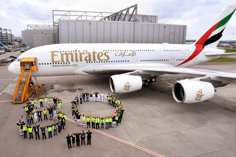 A380 Emirates 80