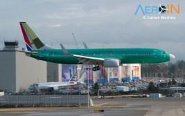 Boeing 737 Soutwest Pintura Verde Fabrica