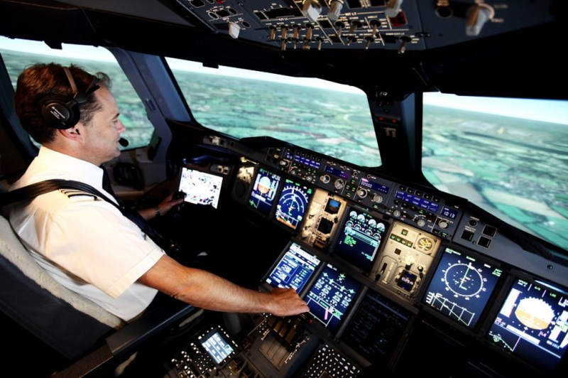 British Airways Simulador Airbus A380