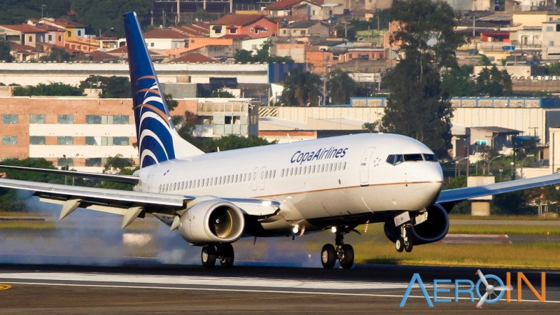 Avião Boeing 737 Copa Airlines