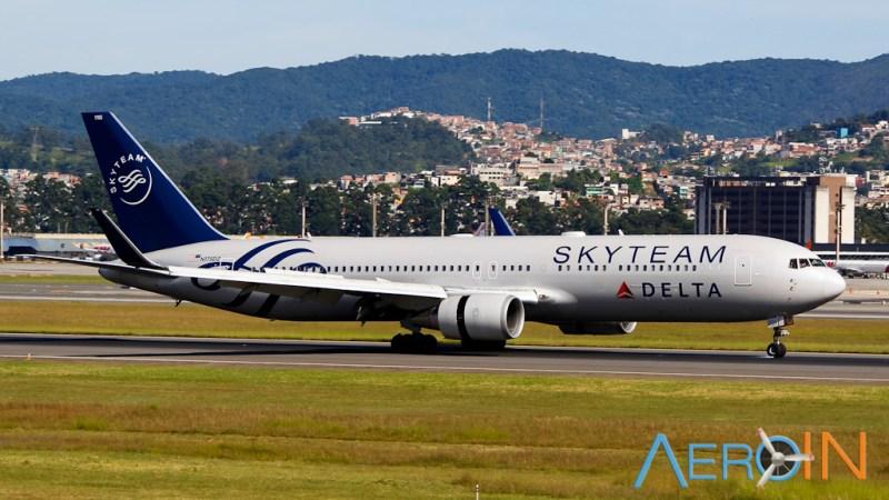 Boeing 767 Delta Skyteam