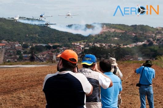 Spotters AeroRock 2016 Esquadrilha CEU