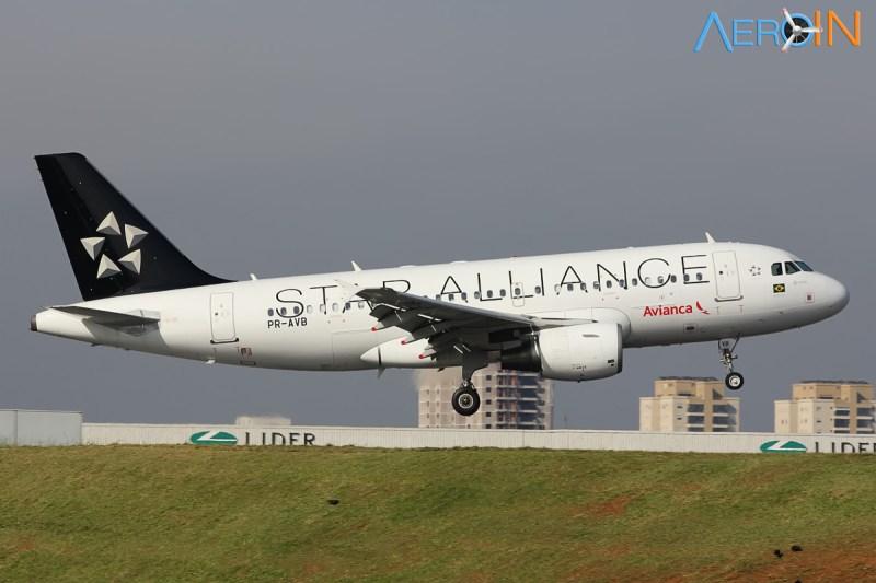 Avianca A319 Star Alliance 3324