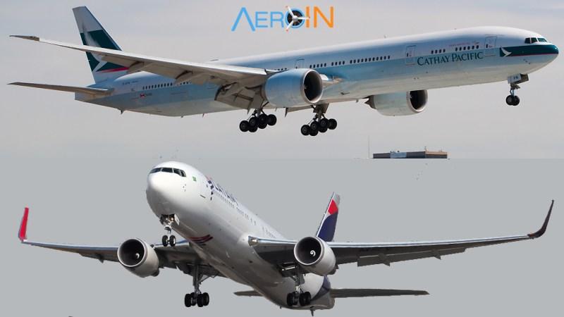 Cathay 777 LATAM 767