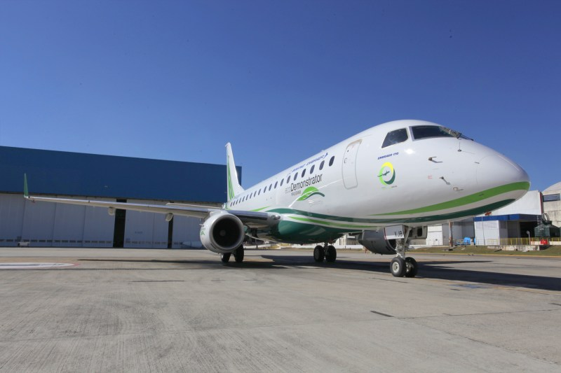 Embraer E175 EW ECO Demonstrator