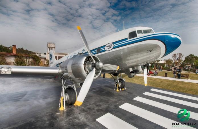 avião Douglas DC-3 Varig