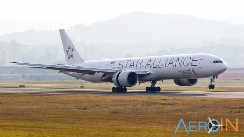 Singapore Boeing 777 Star Alliance