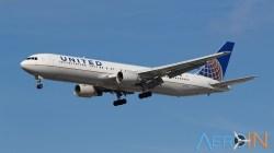 Avião Boeing 767 United
