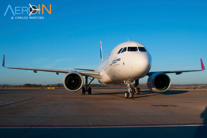 A320neo LATAM parked