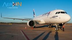 89b9bea2ff Chega ao Brasil o primeiro A320neo das Américas, para a LATAM.