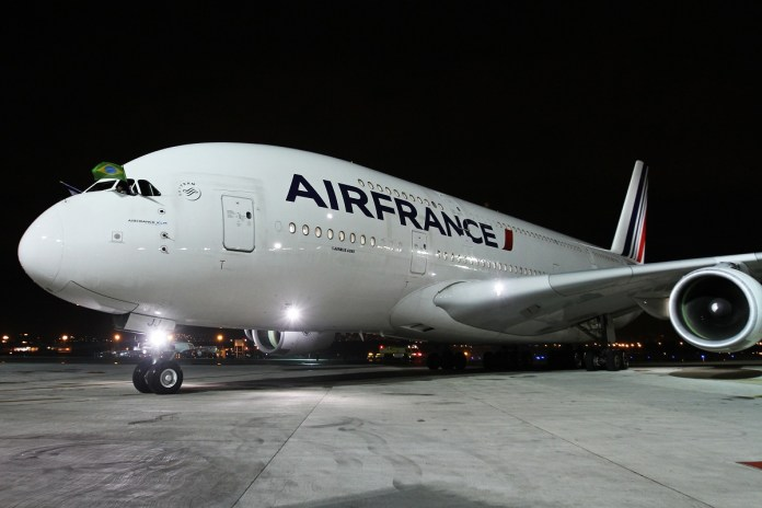 Avião Airbus A380 Air France