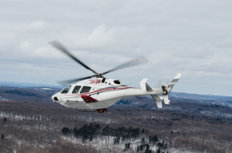 Bell 429 WLG - Versão com trem de pouso retrátil do Bell 429.