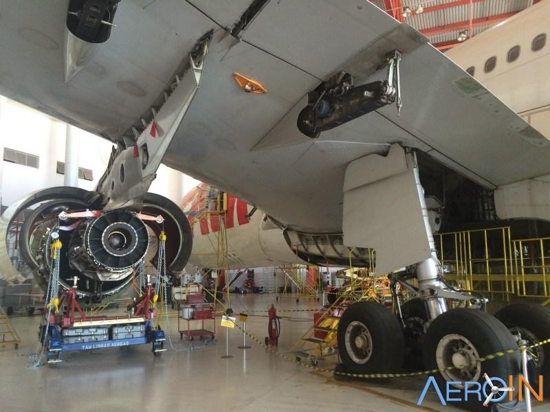 hangar manutenção mro latam são carlos
