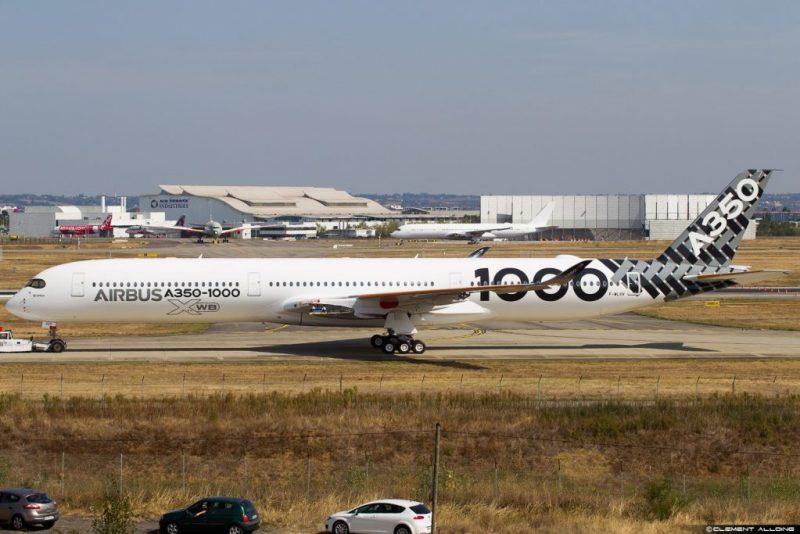Avião Airbus A350-1000