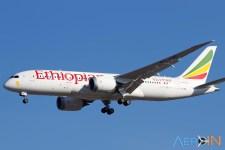 Avião Boeing 787 Ethiopian Airlines