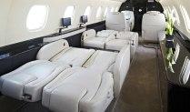 Legacy 650 Berthing Seats