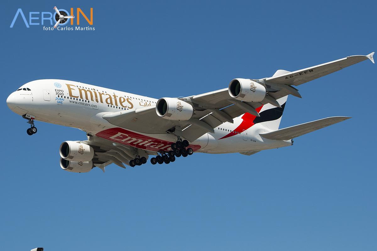 O A380 vem aí. Preparamos uma lista de lugares de onde você poderá vê-lo.