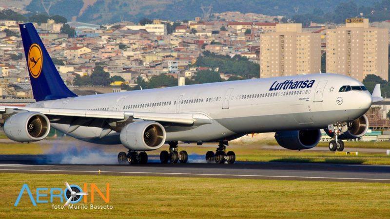 Avião Airbus A340-600 Lufthansa