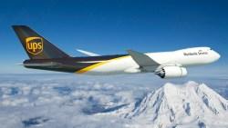 Avião Boeing 747-8F UPS
