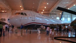 A320 US Airways Rio Hudson Museu Carolinas