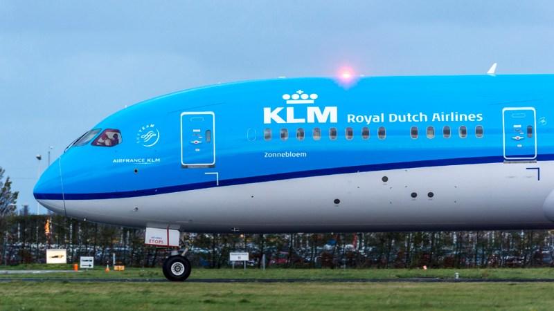 avião Boeing 787 Dreamliner KLM