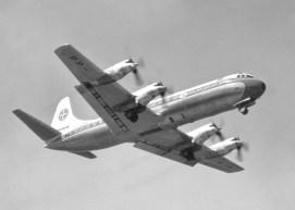 Lockheed L.188 PP-VJP Electra II (divulgação Varig).