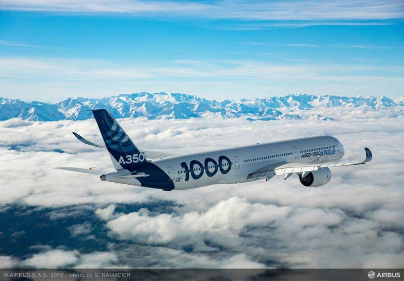 ultra-longo alcance A350