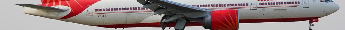 Avião Boeing 777-200 Air india