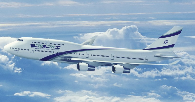 Avião Boeing 747 El Al
