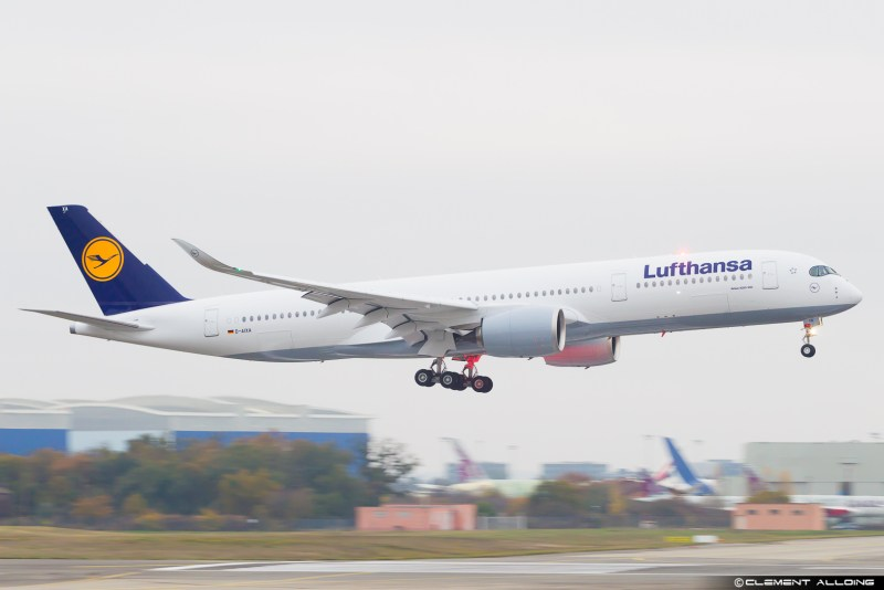 Avião Airbus A350-900 Lufthansa