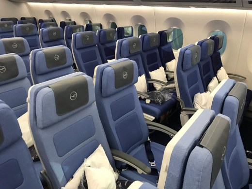 Lufthansa Economy A350 3