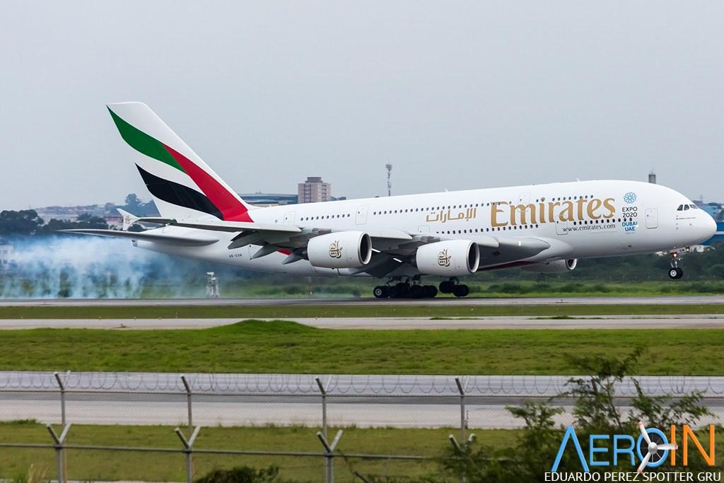 Emirates anuncia ofertas especiais para brasileiros.