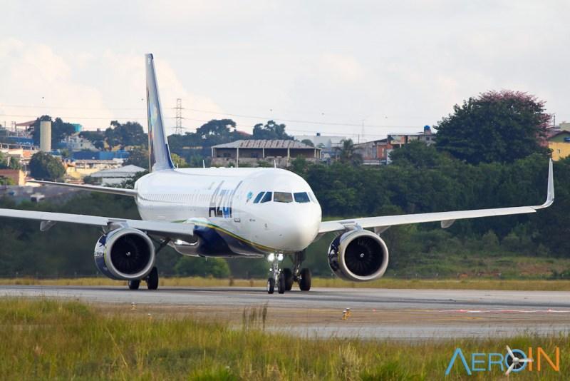 Avião Airbus A320neo da Azul