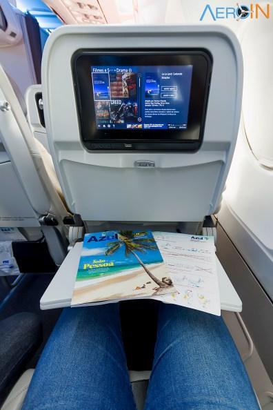 Revista de bordo e entretenimento a bordo em todas as classes do A330