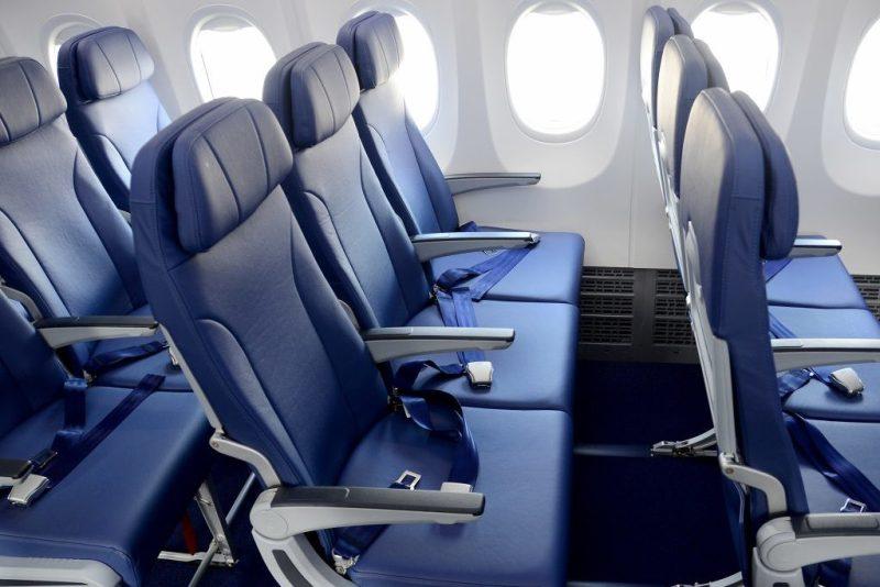 Assentos interior aeronave