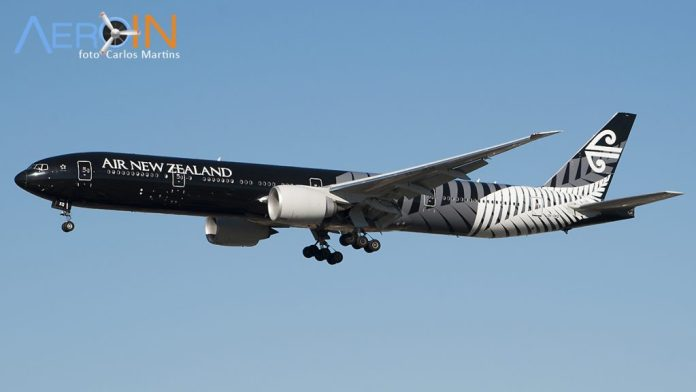 Avião Boeing 777 Air New Zealand