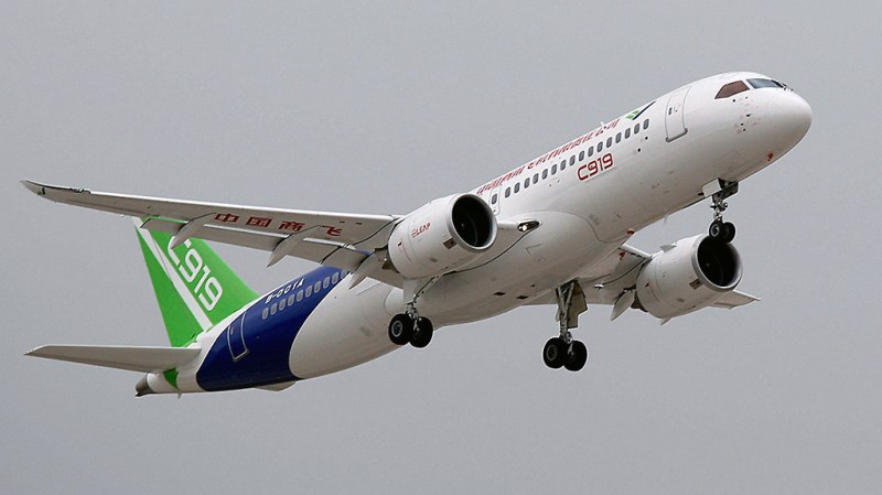 Avião COMAC C919
