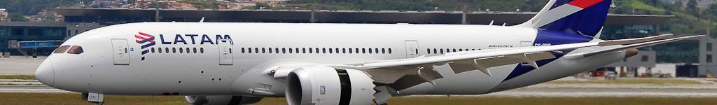 Avião Boeing 787 LATAM