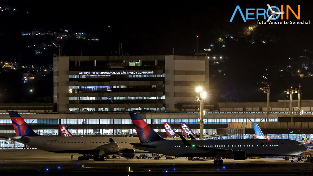 GRU Airport registra volume recorde de passageiros internacionais