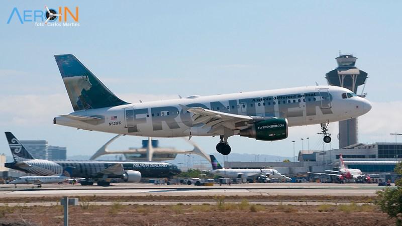 Avião Airbus A319 Frontier