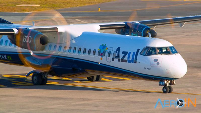 Avião ATR-72 Azul Ribeirão Preto