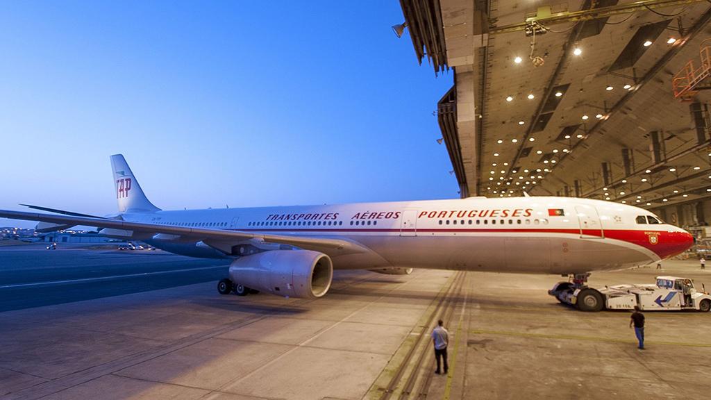 TAP apresenta oficialmente o seu A330 retrô, que vai amanhã para Belo Horizonte.
