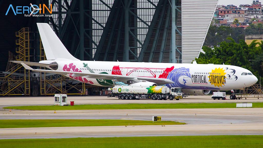 Segundo Airbus A330 da TAP com pintura especial está quase pronto.