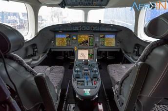 Cockpit do Falcon 8X