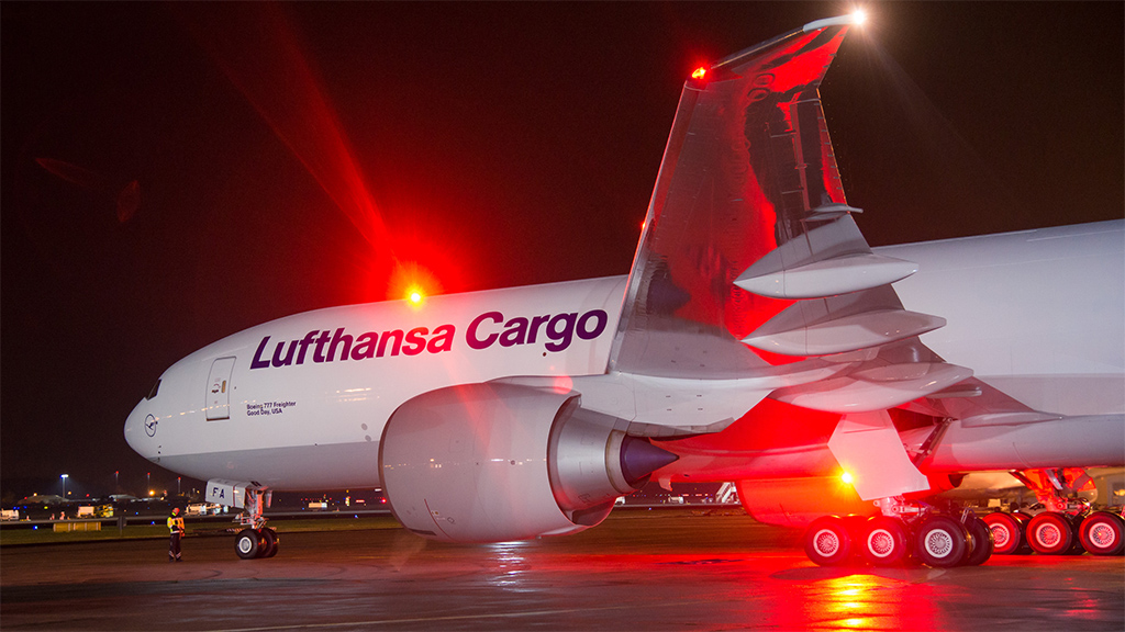 Lufthansa Cargo usará nova aeronave para transporte no Aeroporto de Natal